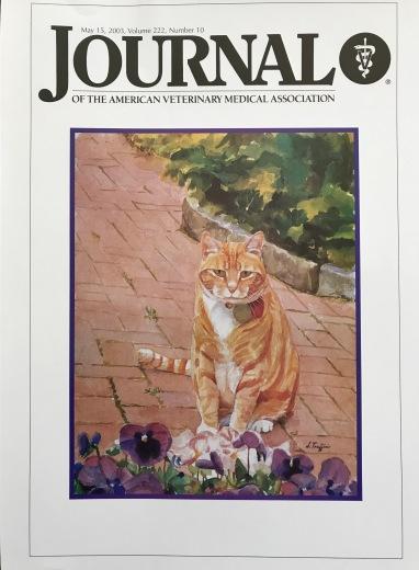 American Veterinary Medical Association Journal- May 15,2003
